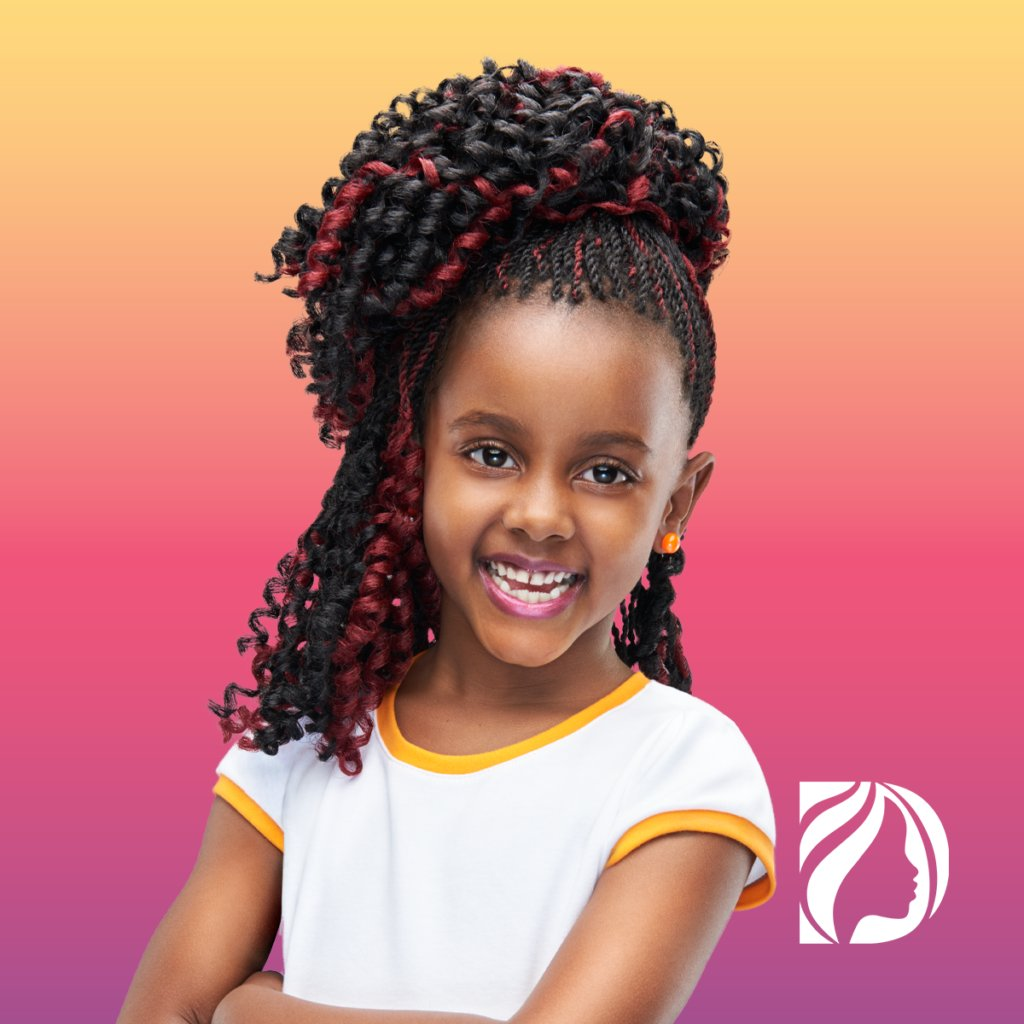 holiday hairstyles -darling baju for your daughter