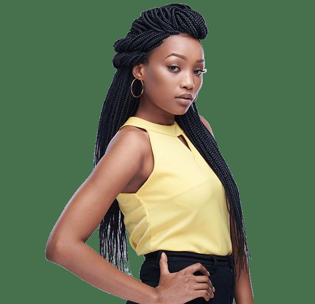 African Hair Braid-LONG ABUJA