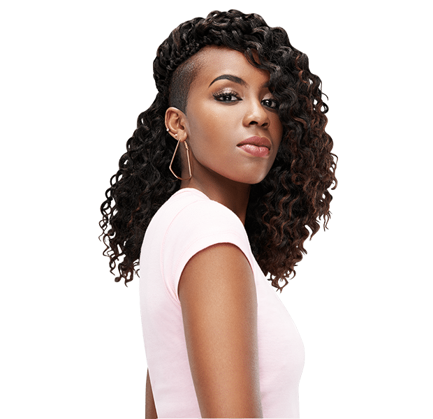 Peruvian bulk crochet - for that great soft curl look