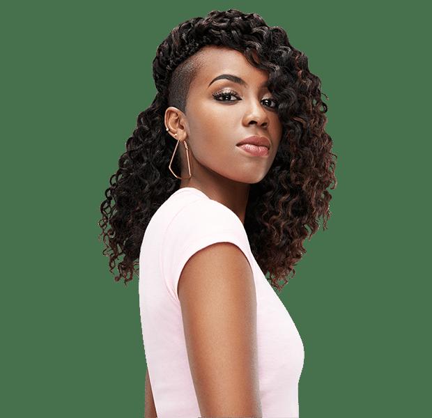 Peruvian bulk crochet - for that great soft curl look