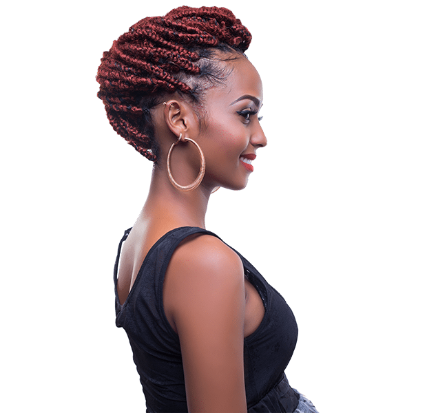 African Hair Crochet Braid-SOFT KINKY