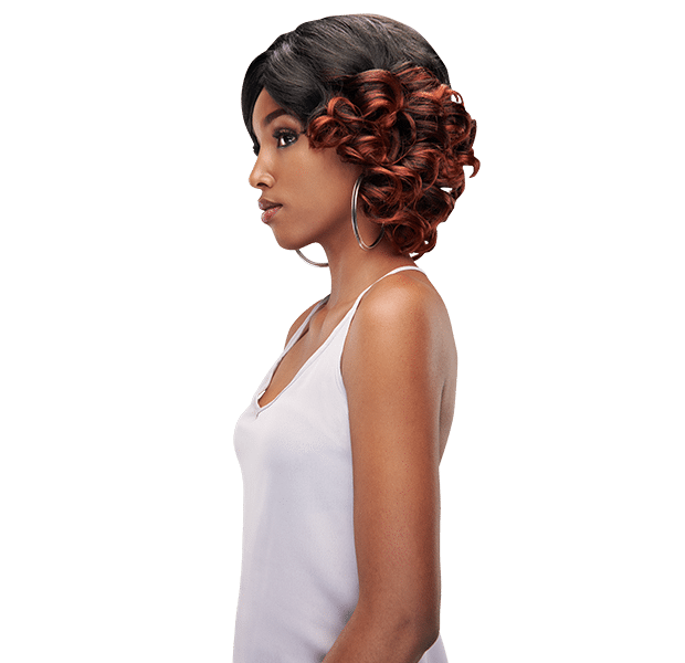 Ripple Plus weave style - Oprah weave with large curls