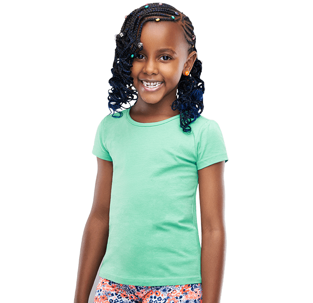 Kids Hair Extensions-TWINKLE BRAID