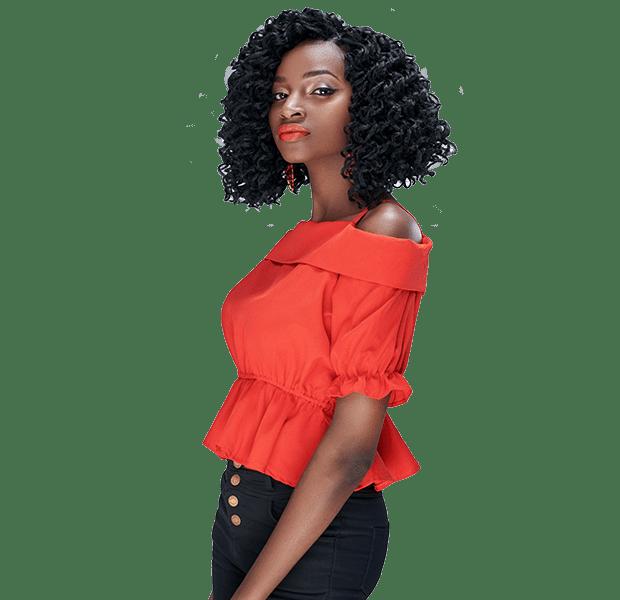 African Hair Crochet Braid-CURLY KINKY