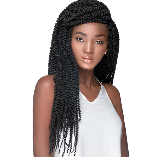 Afro Kinky bulk - a great hair extension