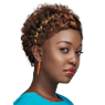 sunny shade weave style- a short weave style