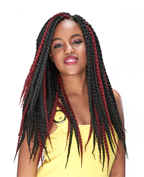 4D Box Braids for that gorgeous look