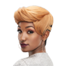 City Girl hype - a nice weave with fun curls