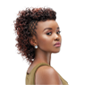 Glamour weave style- an amazing weave style with small curls
