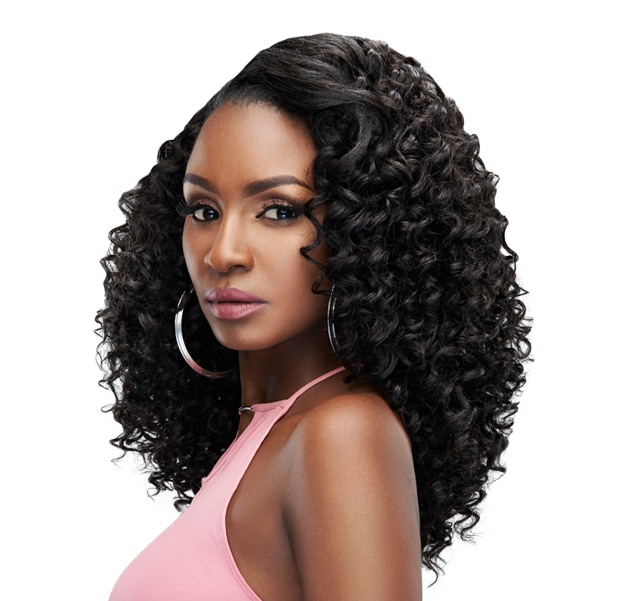 Prima weave style - a great quality weave with long-lasting curls