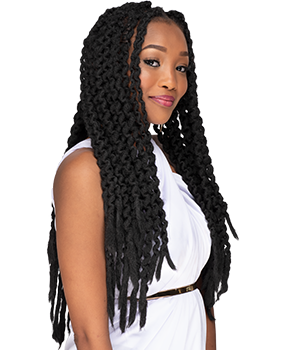Rasta Trend crochet hairstyle - the trendiest hairstyle 2019