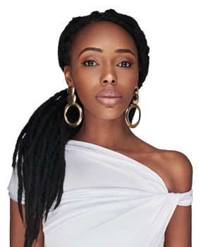 Rasta Sista a classic crochet hairstyle that you can crochet or twist