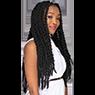 Rasta Trend crochet hairstyle - the trendiest hairstyle 2019