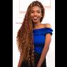 Long Abuja braid hairstyle