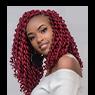 sassy crochet hairstyle