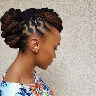 Claire Mawisa Dread Styles