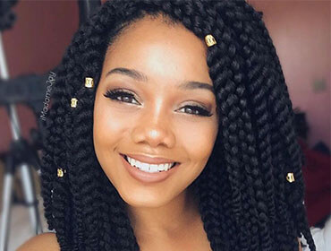 Styling Tips For Twist Braids Darling Hair South Africa