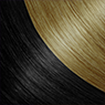 Rich Black:Honey Blonde hair extensions by Darling Hair South Africa