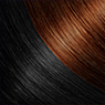 Rich Black/Copper hair colour extensions with Darling Hair South Africa