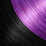 Rich Black and Purple Blend hair extensions with Darling Hair South Africa
