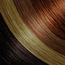 Dark Brown, Honey Blonde, Light Brown & Copper blend hair extensions with Darling Hair South Africa
