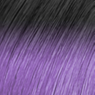 Rich Black & Sorbet Purple Ombré hair extension colours with Darling Hair South Africa