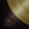 Dark Brown & Honey Blonde hair colours for Darling Hair
