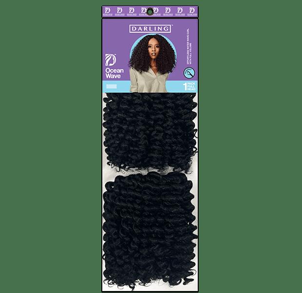 Ocean wave trending weaves with Darling Hair