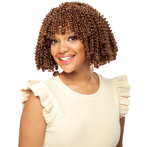 Spring Curl crochet core collection hair extension